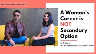 A Woman's Career is NOT Secondary Option | Ask Vishwas | International Women's Day Special