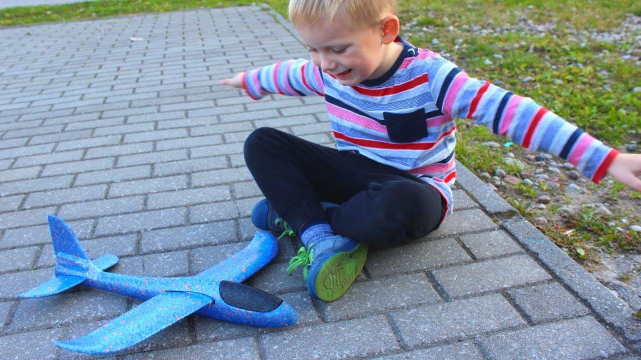 Airplane Toy for children - videos for kids | Игрушки Самолётики для детей