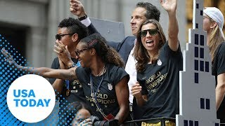 U.S. Women's World Cup champions honored in New York City | USA TODAY