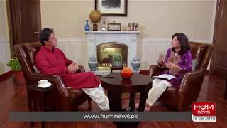 Imran Khan Exclusive interview with Hum News