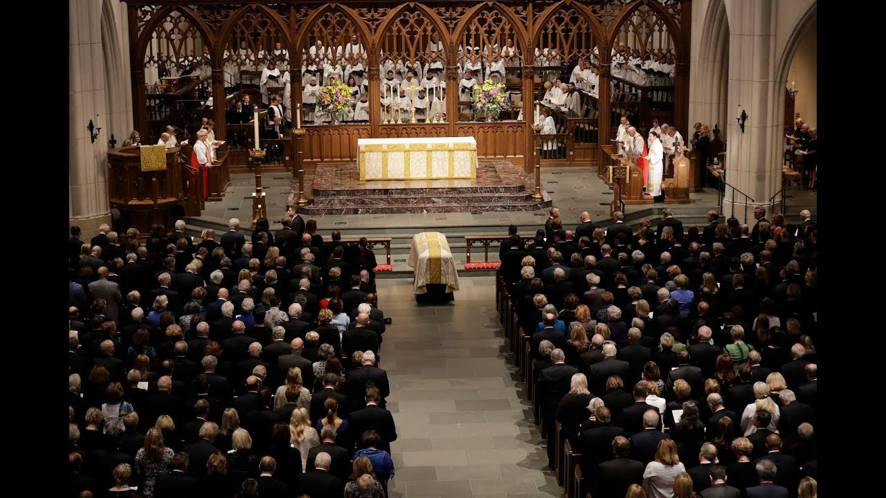 The Funeral of Barbara Bush 2018