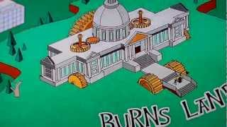 simpsons game of thrones opening