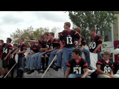 Tecumseh Michigan homecoming parade 2010