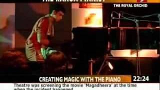 "Utsav Lal-Raga Pianist, ""Ragas Dance off Piano Keys"" India Tour , Media coverage"