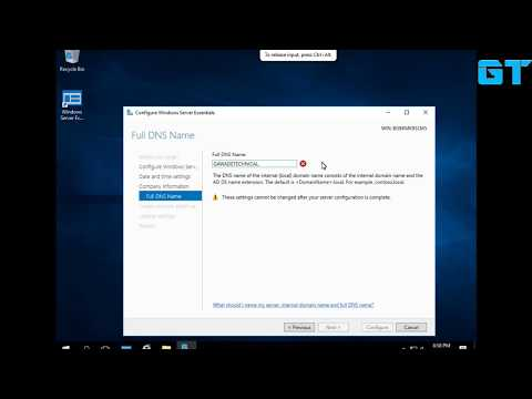 How To Install Windows server 2016 essentials