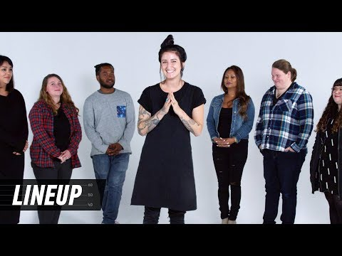 A Tattoo Artist Matches the Tattoo to the Person | Lineup |