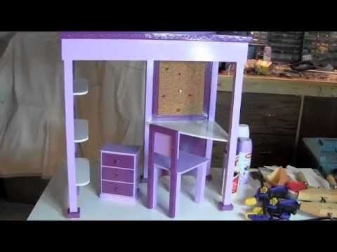 How To Make Mckenna S Loft Bed Youtube