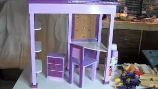 How To Make Mckenna's Loft Bed