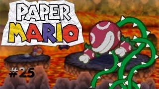 La planta de fuego/Paper Mario capítulo 25