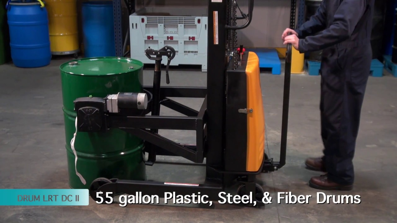 Portable Drum Lifter, Rotator & Transporters - YouTube