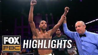 "Jamal ""Shango"" James defeats Antonio DeMarco in front of hometown fans 