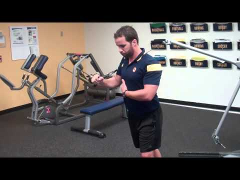 Cable Press with Serratus Push (Shoulder Saver)