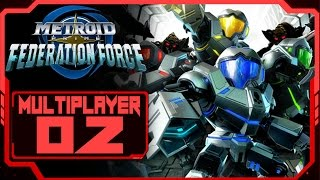 Metroid Prime Federation Force - Online Multiplayer Part 2! [New Nintendo 3DS Gameplay]