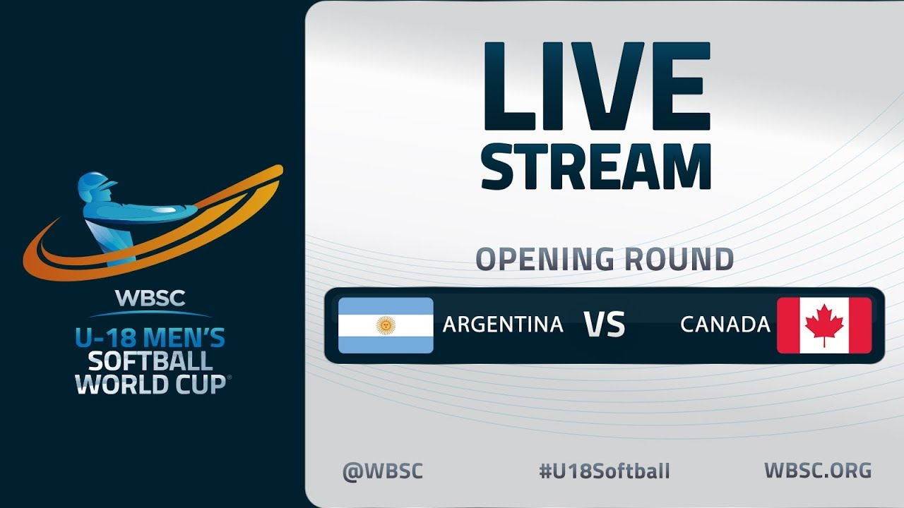 Argentina v Canada - U-18 Men's Softball World Cup 2020 - Opening Round
