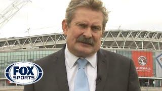 Sky Sports Reporter Falls Off Ladder on Live TV