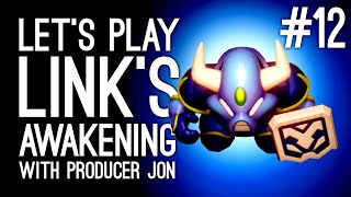 Link's Awakening Switch Gameplay: Link's Awakening with Producer Jon Pt 12 - BOB GETS BEST WEAPON!