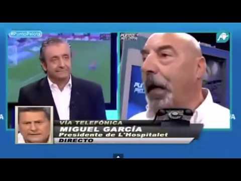 Ramos Marcos vs Miguel García Presidente de L&39;Hospitalet