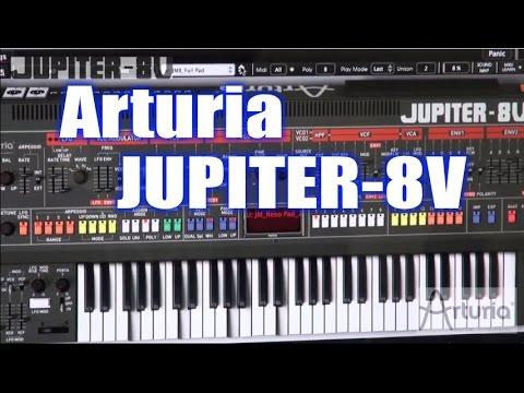 Arturia Jupiter 8V v2 5 2 Incl AiR KeyGen MAC WiN ~ Music