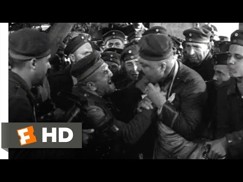 All Quiet on the Western Front (3/10) Movie CLIP - Dish It Out! (1930) HD