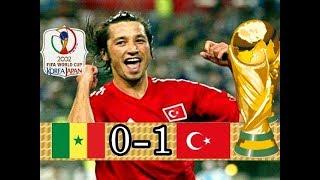 İlhan Mansız altın gol KLİBİ - World Cup 2002 Senegal 0 - 1 Turkey