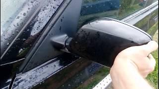 снятие и установка боковых зеркал,их покраска,снятие карты двери BMW X3 E83