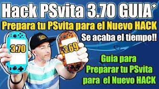 Hack PSvita 3.70 - Prepara Tu psvita para el NUEVO Hack que está por venir - GUIA