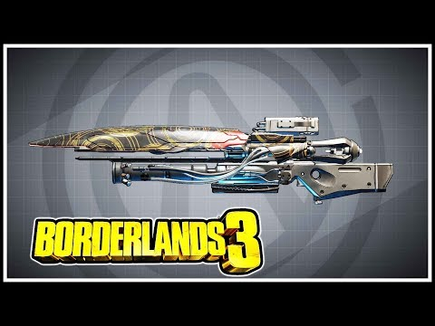 Carrier Borderlands 3 Legendary Showcase