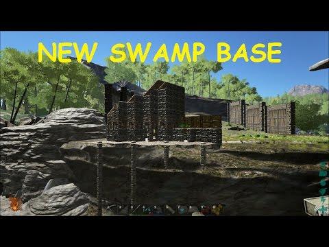 Ark Survival Evolved Ep 33 SWAMP BASE BUILDING!!!