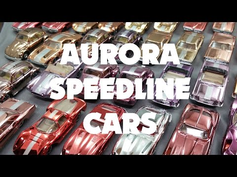 Aurora Speedline and Cigar Box Cars from the 1970's by ToyCarCollector.com