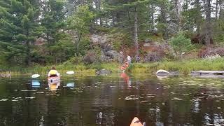 Kayaking - Fenske Lake Group Site Campground - Superior National Forest