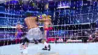 Real Americans vs Matadores vs Rybaxel vs Usos Wrestlemania 30 pre show Segment 7