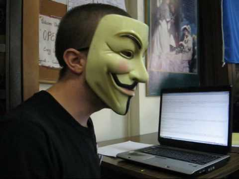 Anonymous Speaks To The Humanist Society