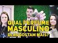 QUAIS PERFUMES MASCULINOS AS MULHERES MAIS GOSTAM DE SENTIR NOS HOMENS? Parte 1