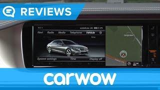 Mercedes S-Class 2017 infotainment and interior review | Mat Watson Reviews