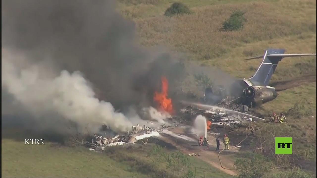 تحطم طائرة في تكساس على متنها 21 راكب  - نشر قبل 4 ساعة