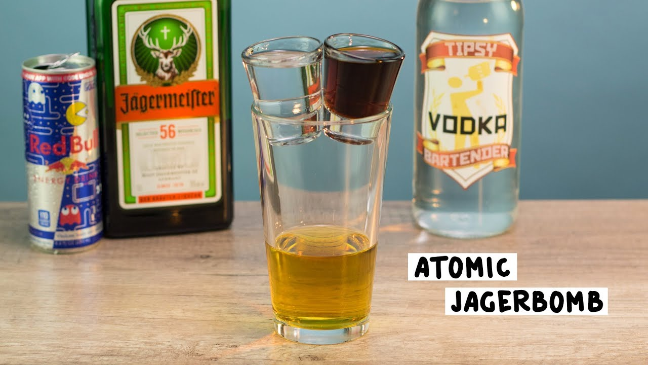 Atomic Jagerbomb Tipsy Bartender