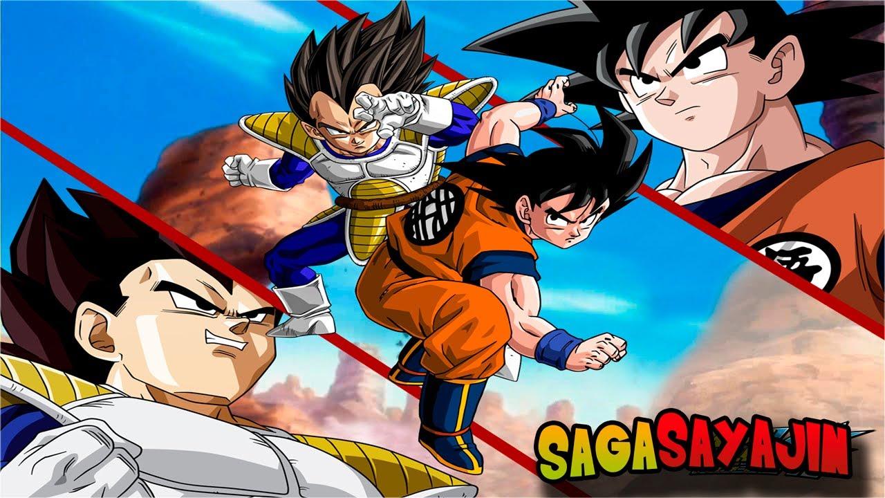 Resultado de imagem para Dragon Ball Z: Saga dos sayajins