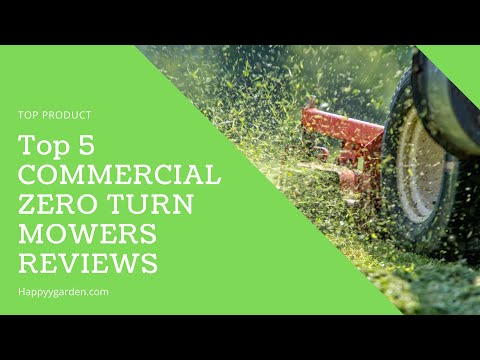 Top Rated Commercial Zero Turn Mowers - Best Reviews 2019