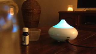 Essential Oil Diffuser Instructions