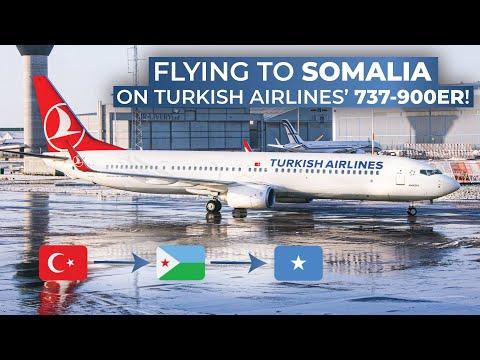 TRIPREPORT | Turkish Airlines (ECONOMY CLASS) | Boeing 737-900ER | Istanbul - Djibouti - Mogadishu