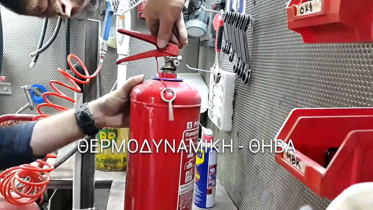 Recharge Dry Powder Fire Extinguisher 6kg