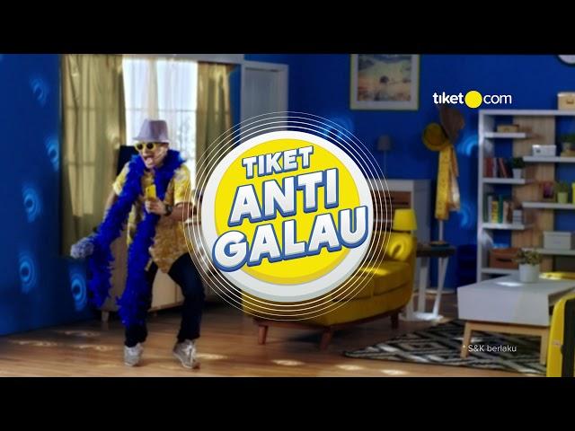 Rekreasi x Tiket.com - Tiket Anti Galau