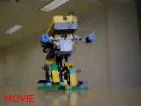 LEGO MindStorms 2足歩行 ROBOT Prototype03