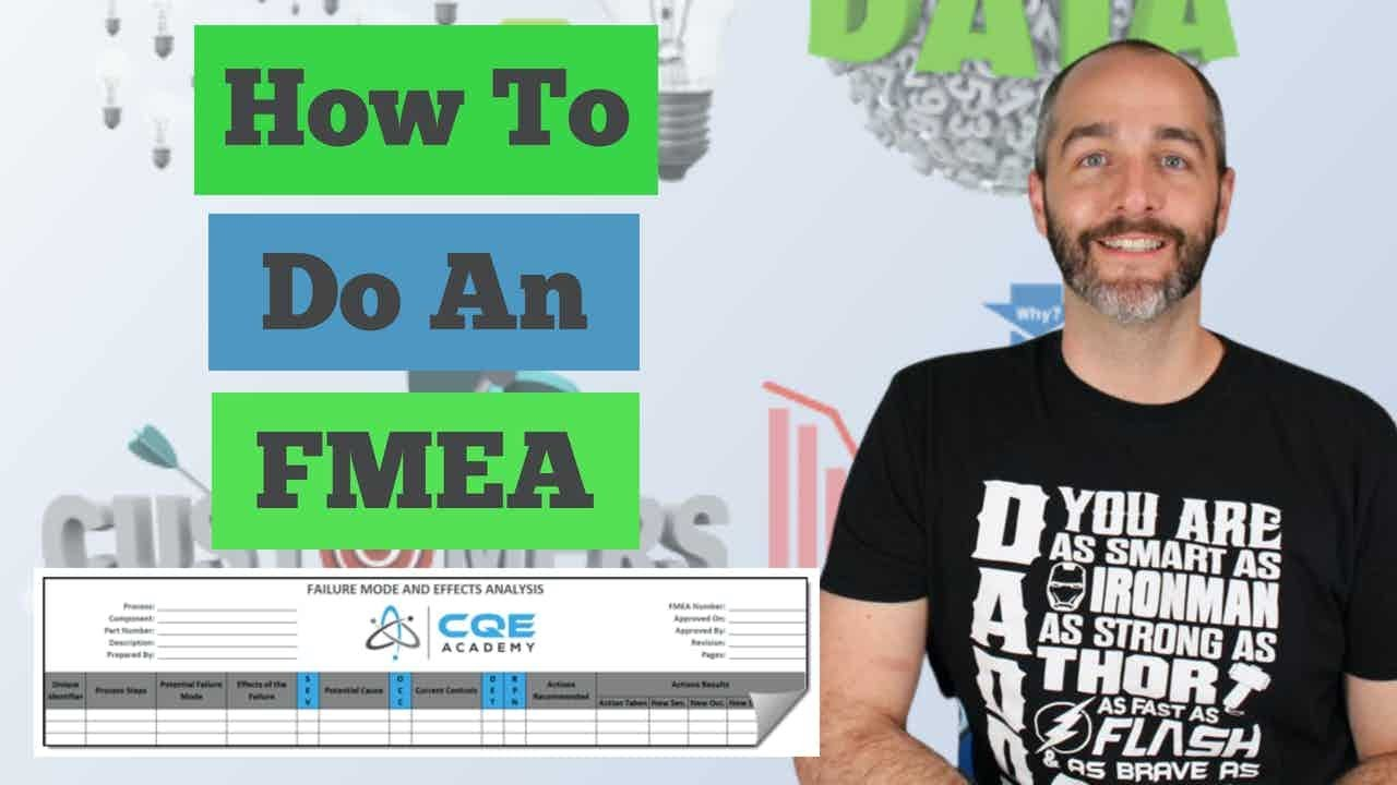 Download FMEA, the 10 Step Process to do an FMEA (PFMEA or DFMEA)
