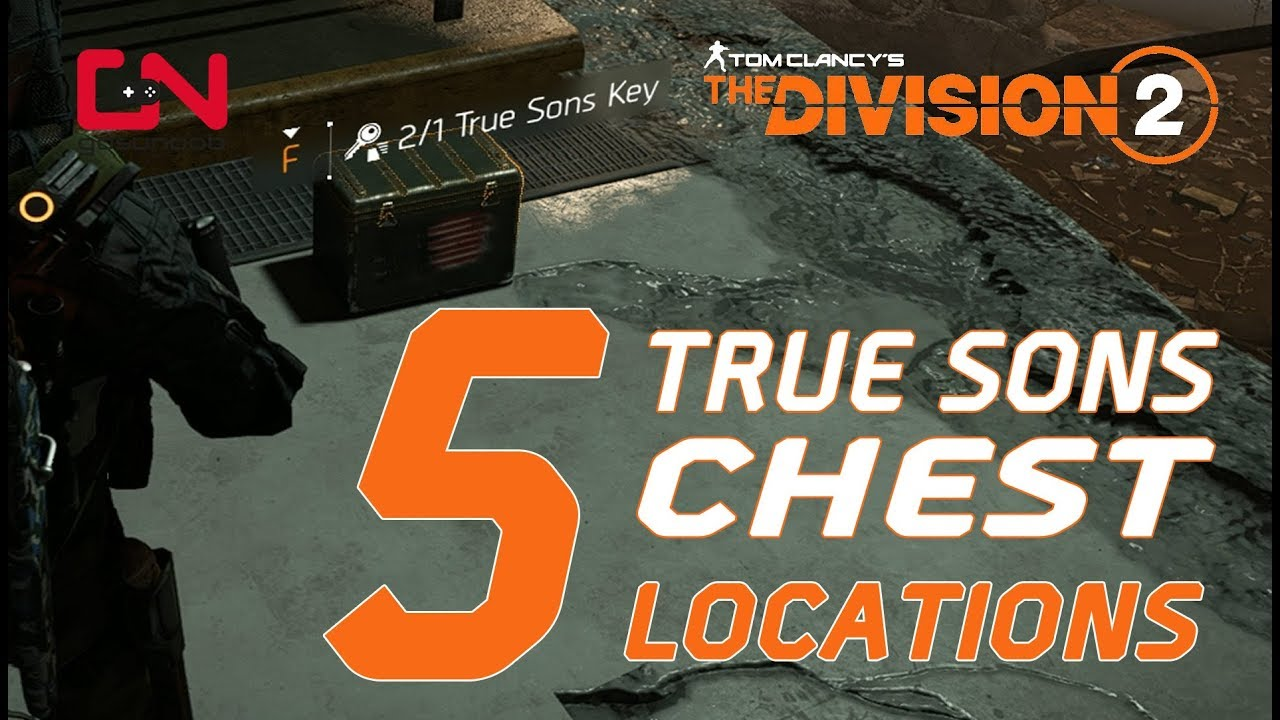 Division 2 Hyena keys, True Sons keys and Outcast Key Locations