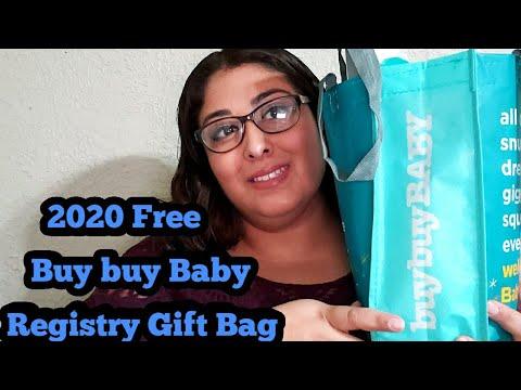 2020 Free Buy Buy Baby Registry Gift Bag - YouTube