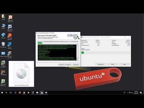 Ubuntu 18.04 Download ISO File & Make Bootable Pen Drive (Free)