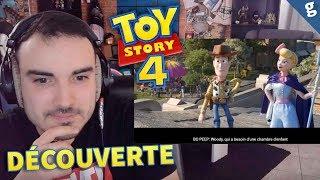 TOY STORY 4 : Ils sont VIVANTS ! AVIS & REACTION au 1er TRAILER !