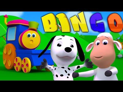 Боб Поезд Бинго | Боба поезд | музыка для детей | Bob The Train | Dog Song | Bob Train Bingo