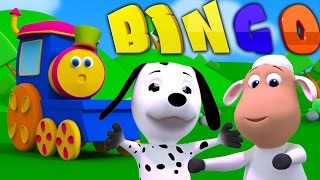 Боб Поезд Бинго | Боба поезд | музыка для детей | Bob The Train | Dog Song | Bob Train Bingo